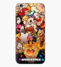 Awesome Undertale art iPhone Case