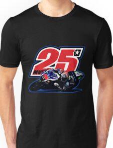 Maverick Vinales 25 and motorbike Unisex T-Shirt