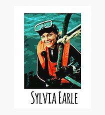 Sylvia Earle Photographic Print