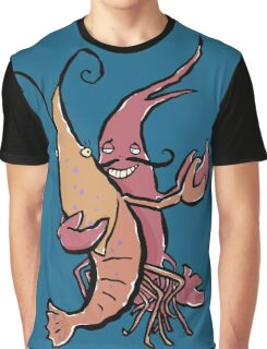 swaying lobsters Graphic T-Shirt