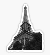 Eiffel Tower on fiesta ground Sticker