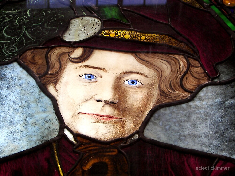 Emily Griffith Stained Glass by eclectickimmer