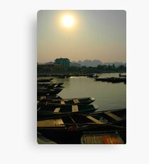 Paddled Canvas Print