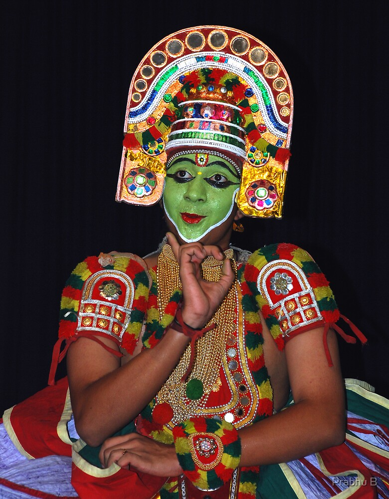 Classical Dancer by Prabhu B