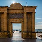 Gate at the Roman Bridge of Cordoba by Ralph Goldsmith