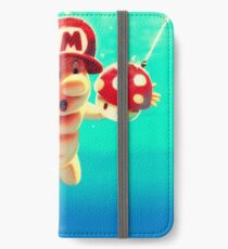 "Mario's disk ""Nevermind"" iPhone Wallet/Case/Skin"