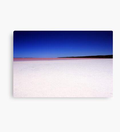 Port Gregory Pink Lake  Canvas Print