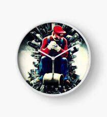 Super Mario's game of thrones Clock