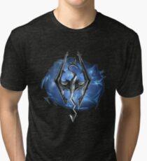 Logo Skyrim #2  Tri-blend T-Shirt