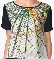 Wired Mapping Women's Chiffon Top