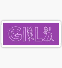 Girls tv show Sticker