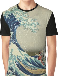 The Great Wave of Hyrule Graphic T-Shirt