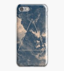 Inverted Cloud Triangle iPhone Case/Skin