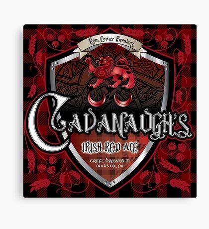 Cavanaugh's Irish Red Canvas Print