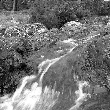 Waterfall by JoLennox