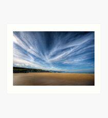 A Donegal Beach Art Print