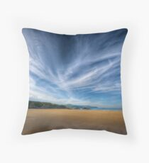 A Donegal Beach Throw Pillow