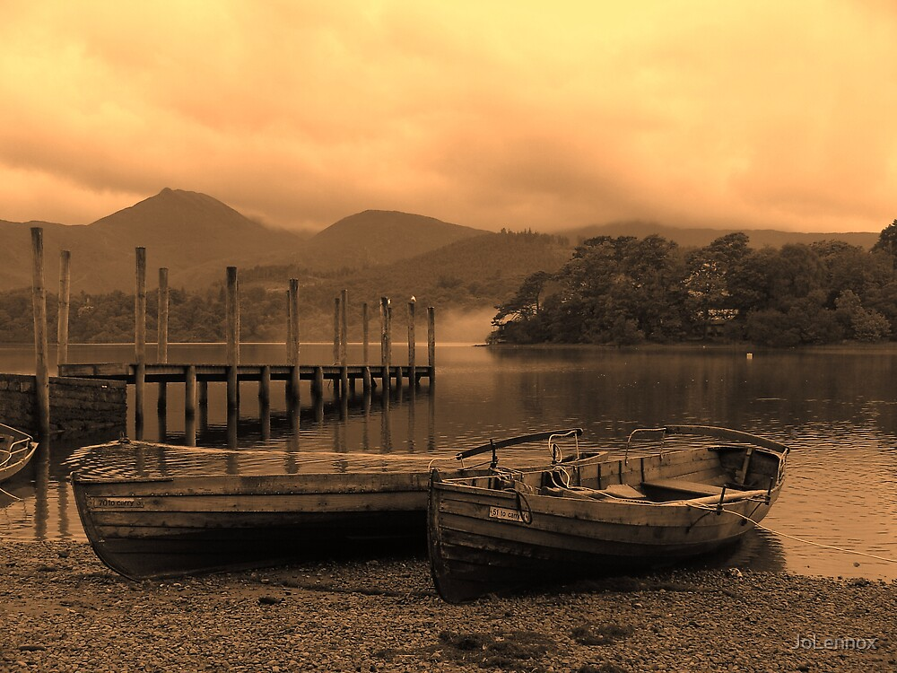 Rowing Boats by JoLennox
