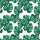 Tropische Blätter, Dschungel Blätter von Viktoriia