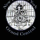 NYC-Mercury keeping time for Grand Central Terminal * by James Lewis Hamilton