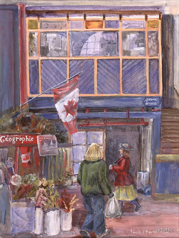 Saint John City Market (with Canada Flag) by artattic
