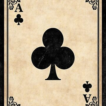 Ace of Clubs by RemusCB