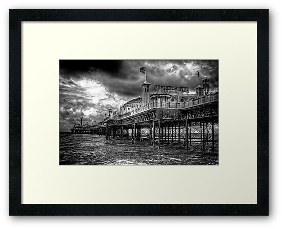 Brighton Pier by Phil Scott