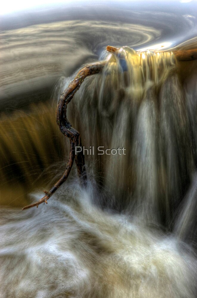 Golden waters... by Phil Scott