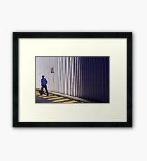 passive Framed Print