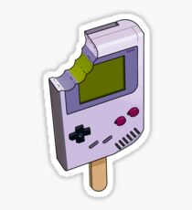 Game Boy Icicle Sticker