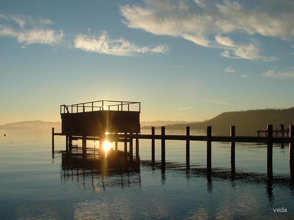 Tahoe Pier 03 by veda