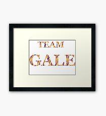 Team Gale Framed Print