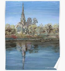 Christ Church Cathedral (Fredericton, New Brunswick) Poster