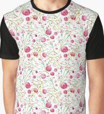 Acuarelas y circulos Graphic T-Shirt