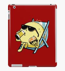 Drink beer and eat donuts iPad Case/Skin