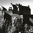 Edinburgh Castle, Scotland by John Glynn ARPS
