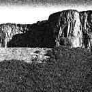 Edinburgh Crags, Arthur's Seat. by John Glynn ARPS