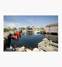 Peggys Cove Photographic Print