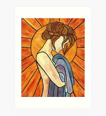 """The Thinking Woman""  Art Print"