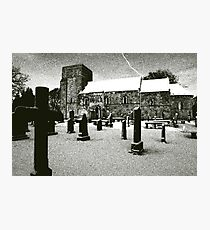 Dalmeny Kirk, Edinburgh Photographic Print