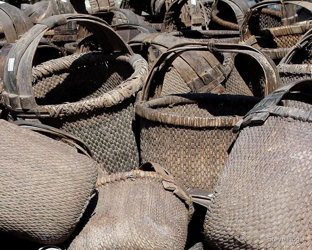A Basket Collection by Steve Hogle