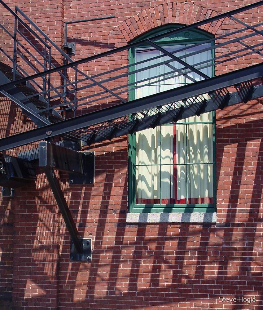 Windowed Walkway by Steve Hogle