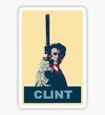Clint - Dirty Harry Sticker