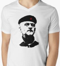 Comandante Corbyn Men's V-Neck T-Shirt