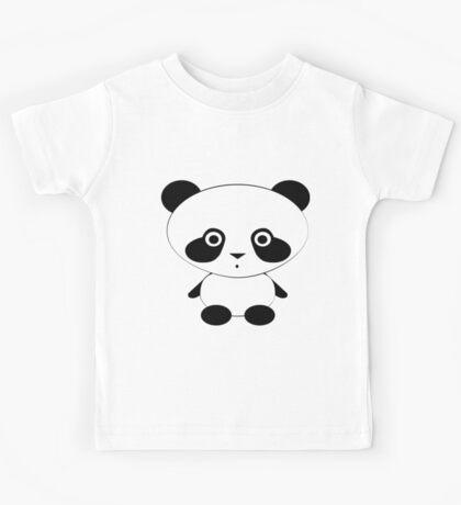 Cute Panda Bear Kids Clothes