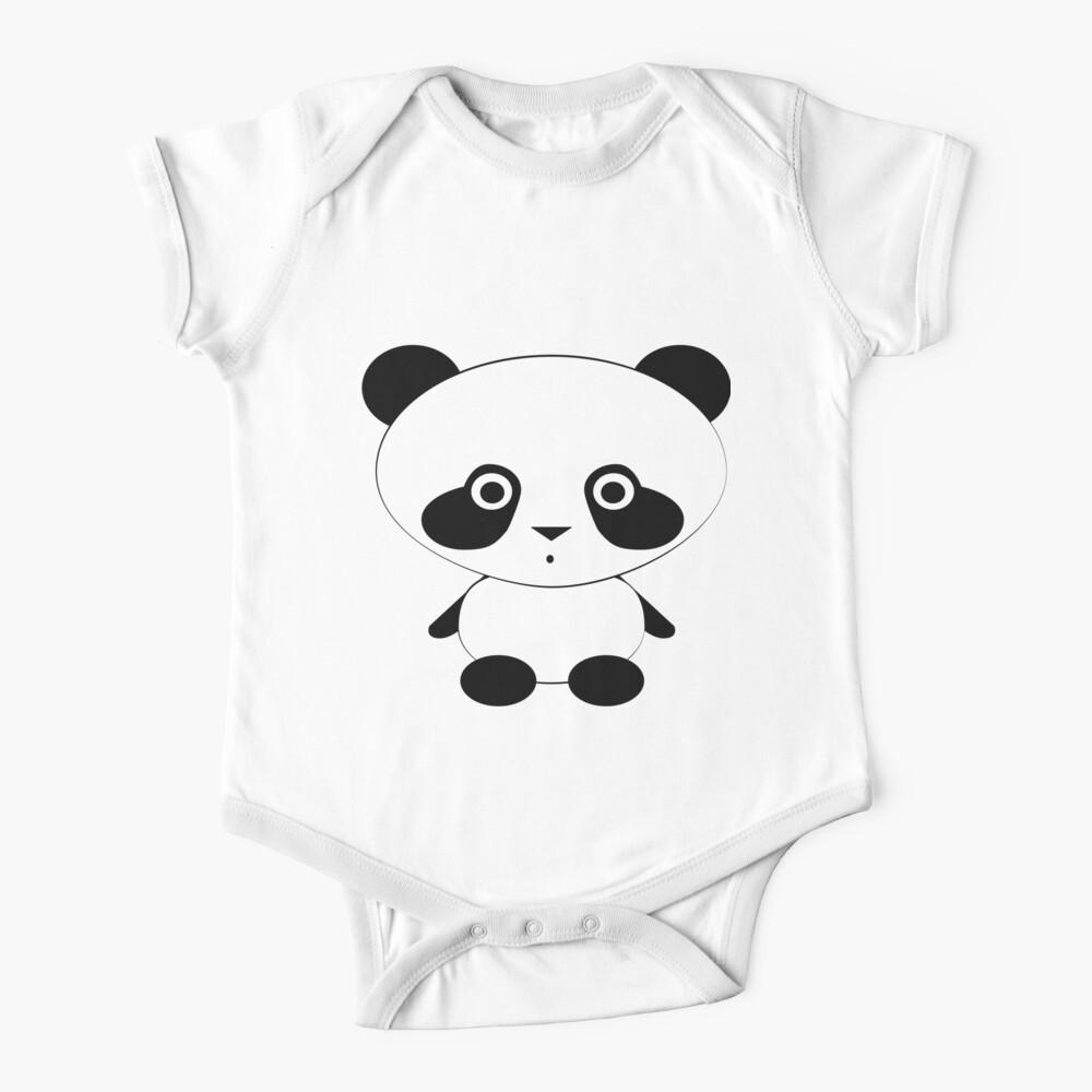 Cute Panda Bear Baby One-Piece