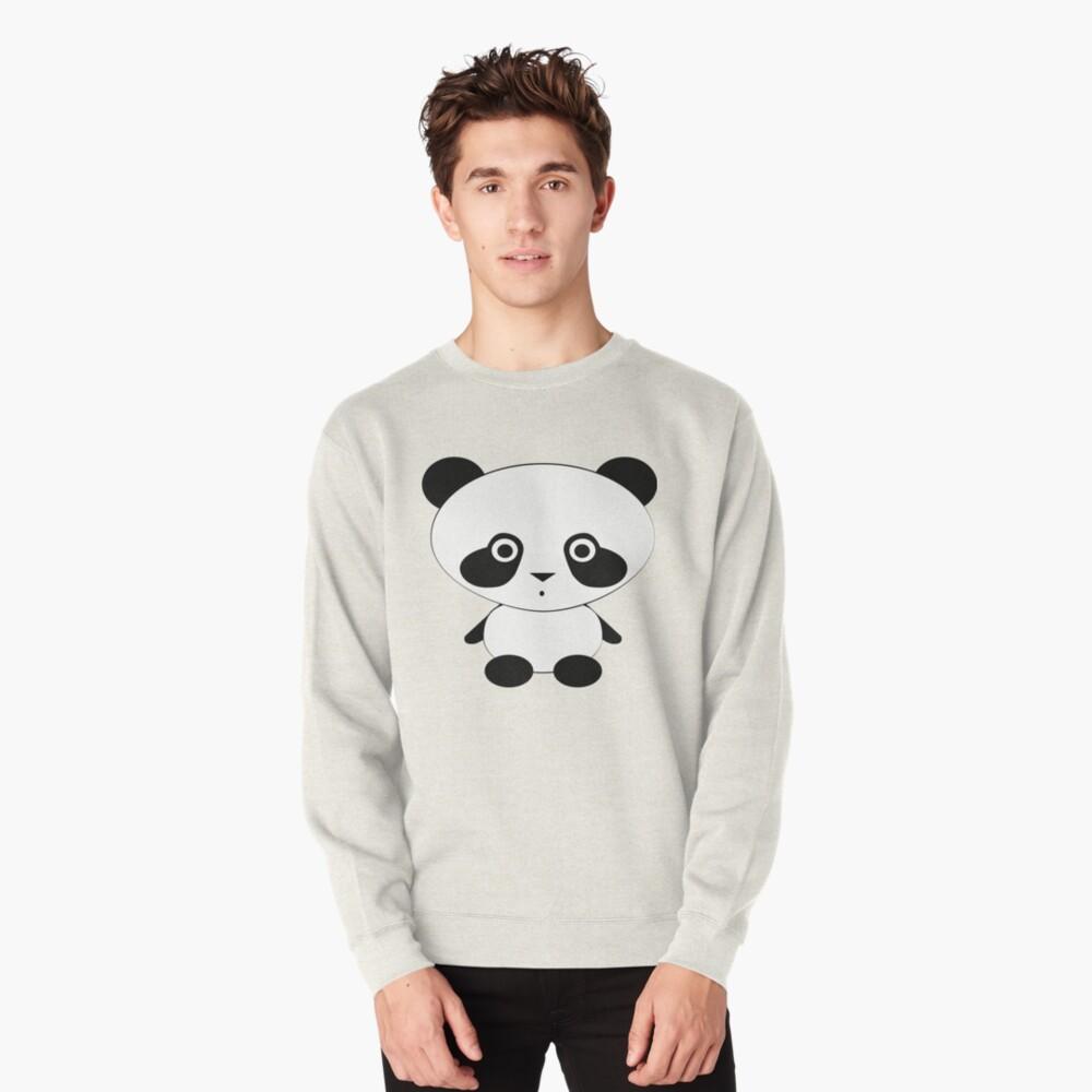 Cute Panda Bear Pullover Sweatshirt