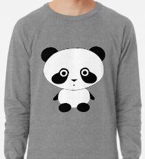 Cute Panda Bear Lightweight Sweatshirt