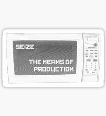 Seize the Microwave! Sticker