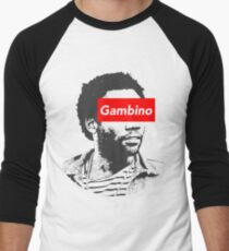 Childish Gambino art Men's Baseball ¾ T-Shirt